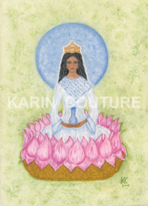 QUAN YIN LOTUS FLOWER